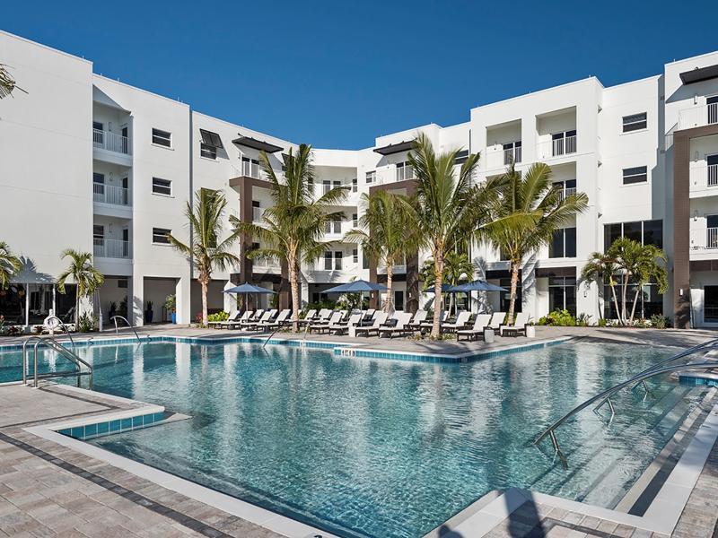 senior living pool
