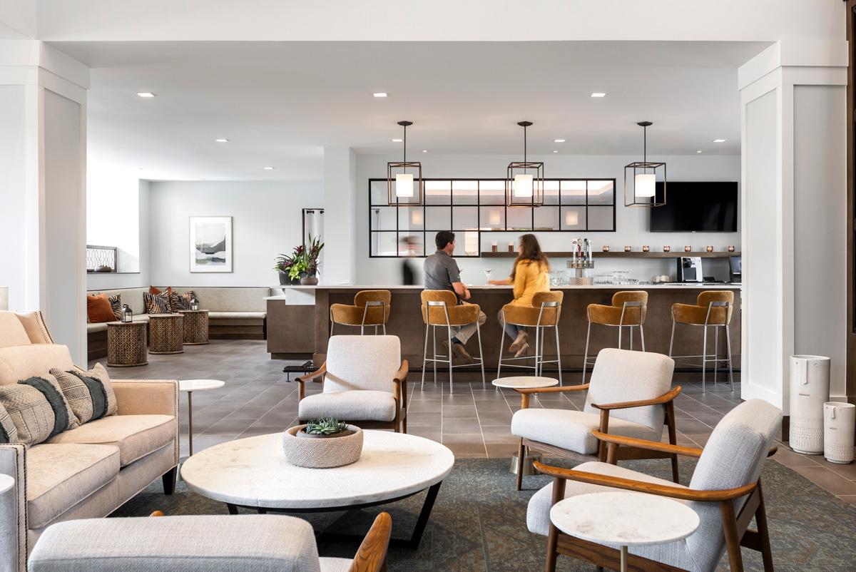 Amavid provides full bar service at both indepenendent living restaurants.