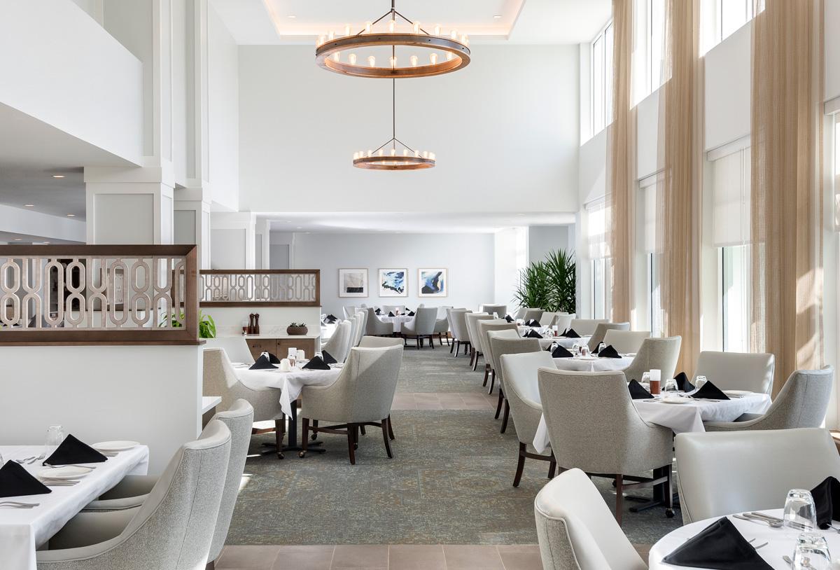 Azure is amavida's fine dining restaurant.