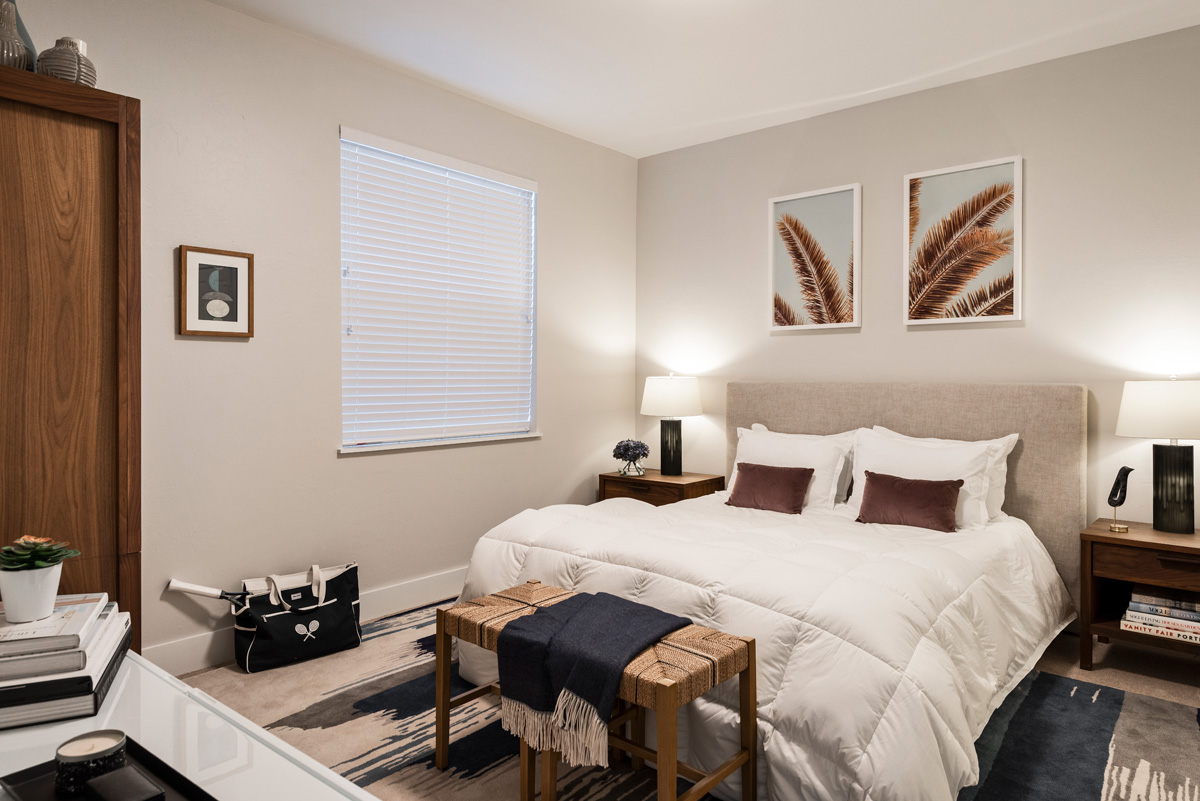 amavida offers furnished models to provide you design ideas and encourages you to dream.